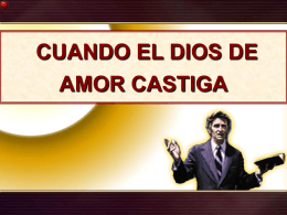 20 Cuando el amor de Dios castiga 7 pllagas