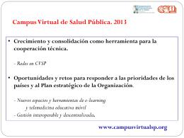 titulo - Campus Virtual de Salud Pública