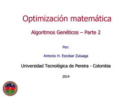 AG_parte2 - Universidad Tecnológica de Pereira