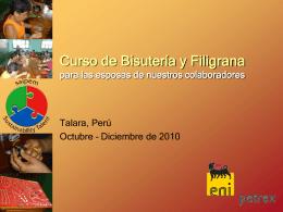 Curso de Bisutería y Filigrana