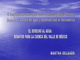 Ver ponencia. - Martha Delgado