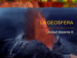 LA GEOSFERA - Departamento de Biología y Geología