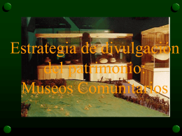 patrimonio cultural: orientaciones hacia un turismo sostenible