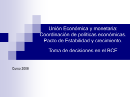 Presentación3 - Instituto de Estudios de la Integración Europea