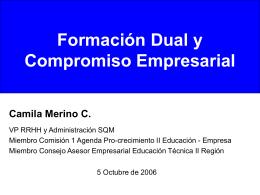 Formación Dual Y Compromiso Empresarial
