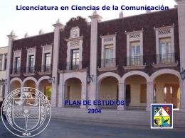 Presentación Divisional - Licenciatura en Ciencias de la