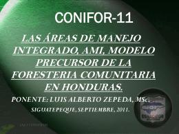 Ami - Agenda Forestal Hondureña