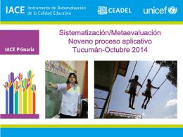 Acá va el título del documento Jujuy – Marzo 2014