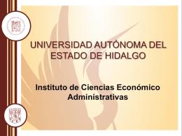 Presentación de PowerPoint - Universidad Autónoma del Estado de