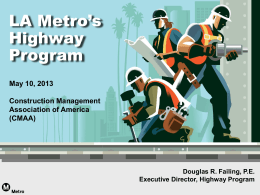 LACMTA Highway Program Presentation