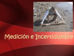Medición e Incertidumbre