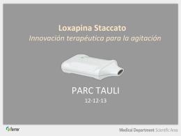 Loxapina Staccato