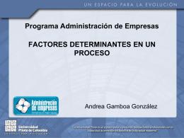 Socializacion Andrea Gamboa González