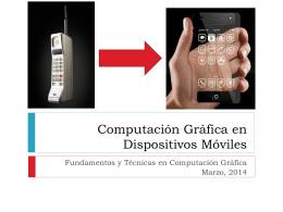 Slide 1 - Centro de Computación Gráfica
