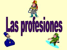 las_profesiones - Spanish Irlanda