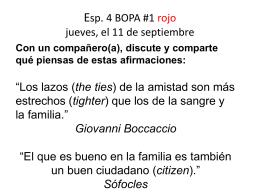 Esp.4 BOPA #1 T1 rojo-la familia 2014-15