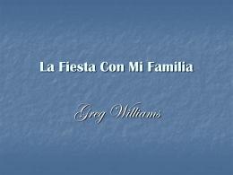 La Fiesta Con Mi Familia