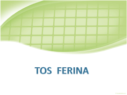 Tos ferina - EXTRANET - Hospital Universitario Cruces