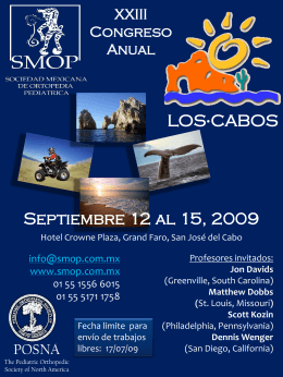 Septiembre 12 al 15, 2009