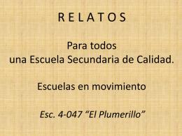 Diapositiva 1 - Escuelas en movimiento