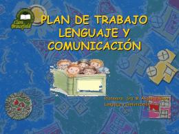Plan Lenguaje 4 - Corporación Educacional Bautista