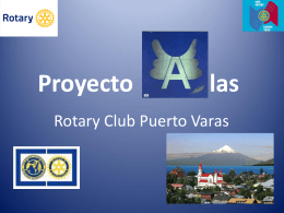 Proyecto A las Rotary Comité