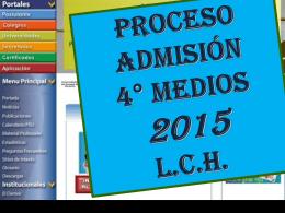 consejo profesores PSU 2014 - liceo camilo henriquez