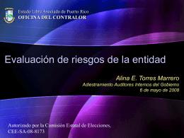 Slide 1 - Oficina del Contralor General de Puerto Rico