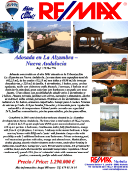 la alzambra luxury four bed semi-detached
