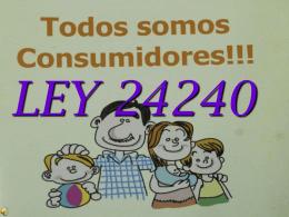 LEY 24240 - JuanXXIIIciudadania3