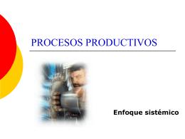 Procesos productivos 2