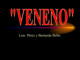 """VENENO"" - I like the idea"
