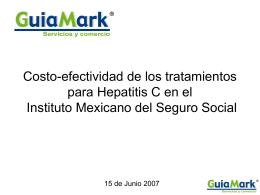 Evaluación económica del tratamiento farmacológico de pacientes