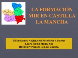 Formación MIR en Castilla