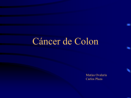 Cáncer de Colon - Odontochile.cl