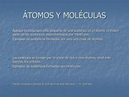03.3 átomos y moleculas