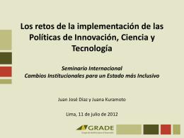 Descargue la presentación de Juana Kuramoto y Juan José