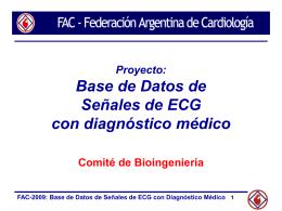 ppt - Federación Argentina de Cardiología