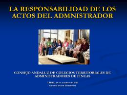 RC INGENIERO TECNICO - Colegio de Administradores de Fincas