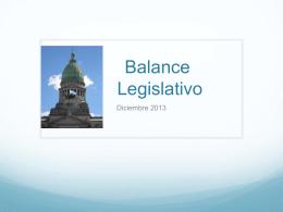 Síntesis legislativa - El sitio de Laura Montero