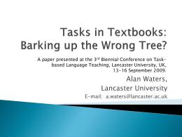 PowerPoint - Lancaster University
