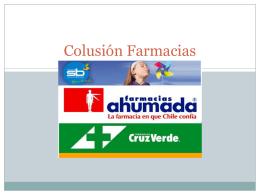 Colusión Farmacias