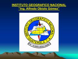 PresentaciónSIG_Ocse_ign - IARNA Instituto de Agricultura