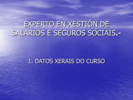 experto en xestión de salarios e seguros sociais