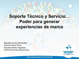Soporte Técnico y Servicio