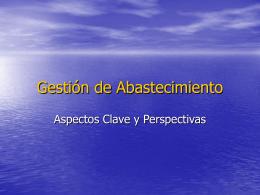 Gestión del Conocimiento, Aspectos Clave y Perspectivas