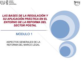 (Módulo 1) - Reforma Marco Legal
