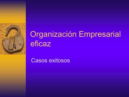 Organizacion Empresarial Eficaz