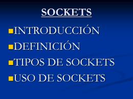 tipos de sockets