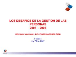 Desafíos 2007